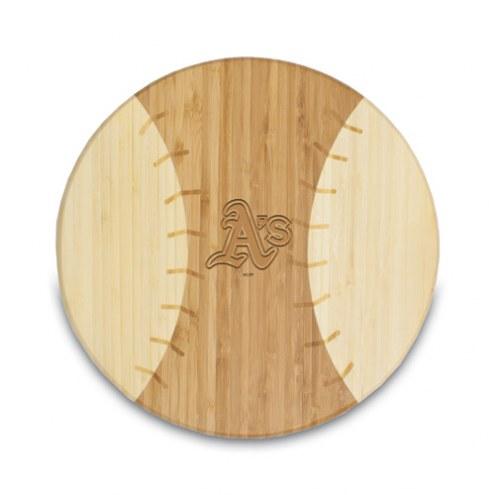 Oakland Athletics Homerun Cutting Board
