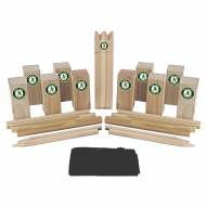 Oakland Athletics Kubb Viking Chess
