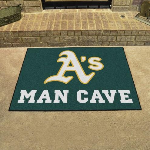 Oakland Athletics Man Cave All-Star Rug
