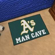 Oakland Athletics Man Cave Starter Mat
