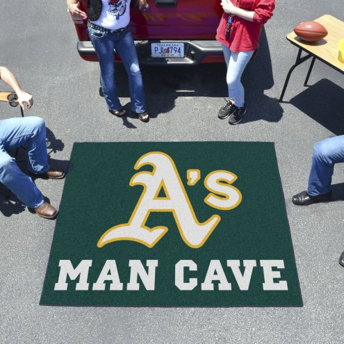 Oakland Athletics Man Cave Tailgate Mat