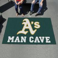 Oakland Athletics Man Cave Ulti-Mat Rug