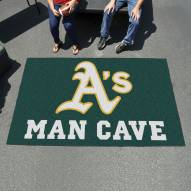 Oakland Athletics Man Cave Ulti-Mat Rug