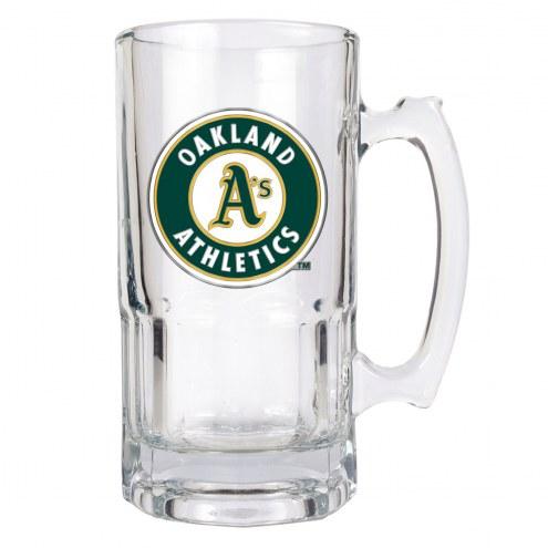 Oakland Athletics MLB 1 Liter Glass Macho Mug