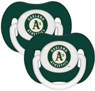 Oakland Athletics Baby Pacifier 2-Pack