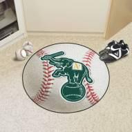 Oakland Athletics Baseball Rug