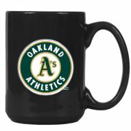 Oakland Athletics MLB 2-Piece Ceramic Coffee Mug Set