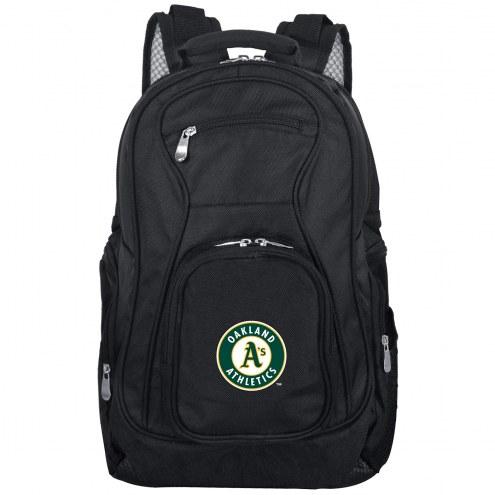 Oakland Athletics Laptop Travel Backpack