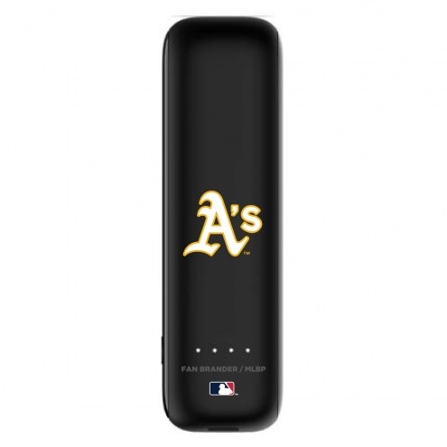 Oakland Athletics mophie Power Boost Mini Portable Battery