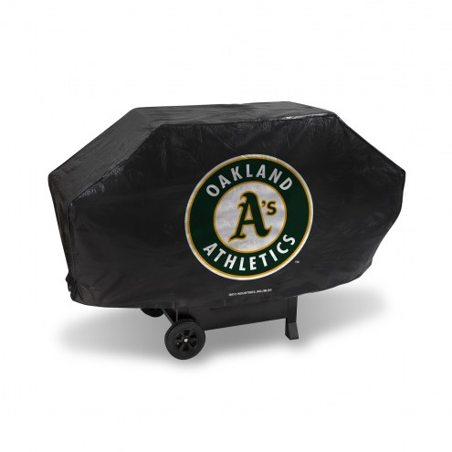 Oakland Athletics Deluxe Padded Grill Cover