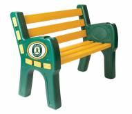 Oakland Athletics Park Bench