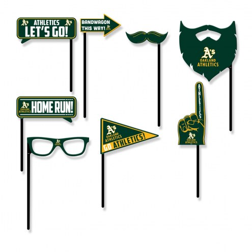 Oakland Athletics Party Props Selfie Kit