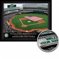 Oakland Athletics 11 x 14 Personalized Framed Stadium Print