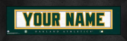 Oakland Athletics Personalized Stitched Jersey Print