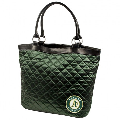 Oakland Athletics Quilted Tote Bag