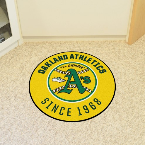Oakland Athletics Roundel Mat