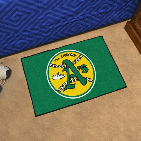 Oakland Athletics Starter Rug