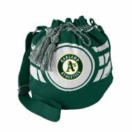 Oakland Athletics Ripple Drawstring Bucket Bag