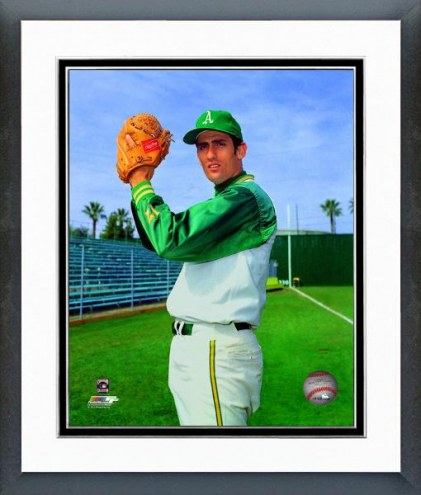 Oakland Athletics Rollie Fingers Posed Framed Photo