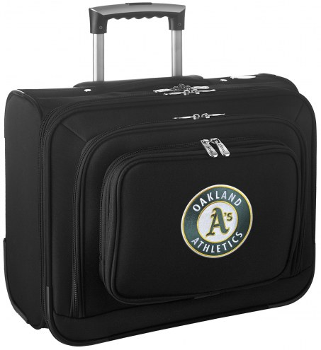 Oakland Athletics Rolling Laptop Overnighter Bag