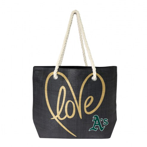 Oakland Athletics Rope Tote
