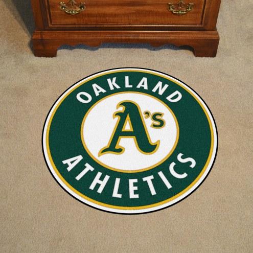 Oakland Athletics Rounded Mat