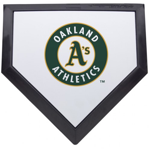 Oakland Athletics Schutt MLB Mini Home Plate