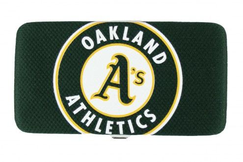Oakland Athletics Shell Mesh Wallet