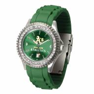 Oakland Athletics Sparkle Women's Watch