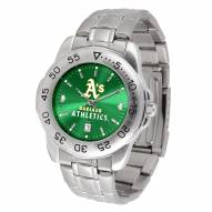 Oakland Athletics Sport Steel AnoChrome Men's Watch