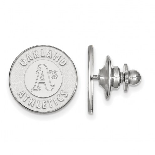 Oakland Athletics Sterling Silver Lapel Pin