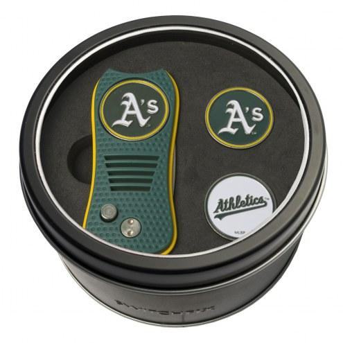Oakland Athletics Switchfix Golf Divot Tool & Ball Markers