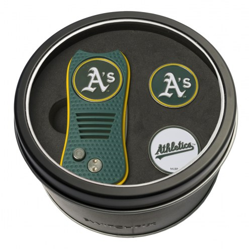 Oakland Athletics Switchfix Golf Divot Tool & Ball Markers