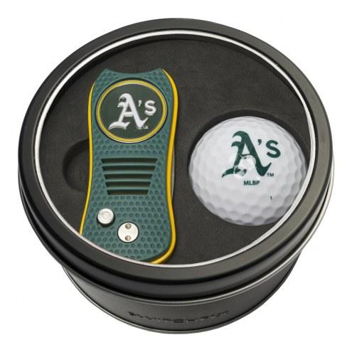 Oakland Athletics Switchfix Golf Divot Tool & Ball