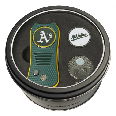 Oakland Athletics Switchfix Golf Divot Tool, Hat Clip, & Ball Marker