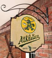 Oakland Athletics Tavern Sign