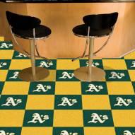 Oakland Athletics Team Carpet Tiles