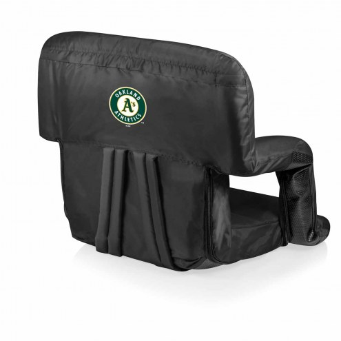 Oakland Athletics Ventura Portable Outdoor Recliner