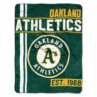Oakland Athletics Walk Off Throw Blanket