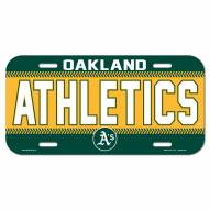 Oakland Athletics License Plate