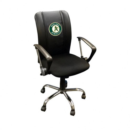 Oakland Athletics XZipit Curve Desk Chair