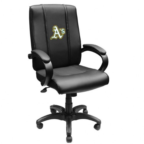 Oakland Athletics XZipit Office Chair 1000 with Secondary Logo