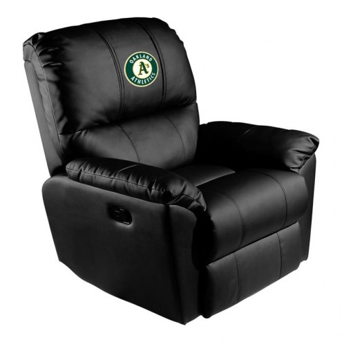 Oakland Athletics XZipit Rocker Recliner