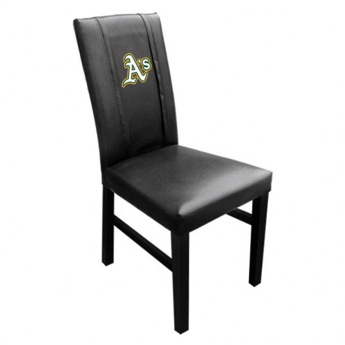 Oakland Athletics XZipit Side Chair 2000 with Secondary Logo