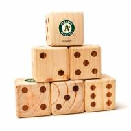 Oakland Athletics Yard Dice