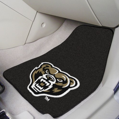 Oakland Golden Grizzlies 2-Piece Carpet Car Mats