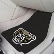 Oakland Golden Grizzlies 2-Piece Carpet Car Mats