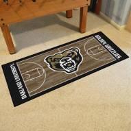 Oakland Golden Grizzlies Basketball Court Runner Rug