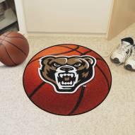 Oakland Golden Grizzlies Basketball Mat