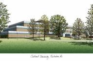 Oakland Golden Grizzlies Campus Images Lithograph